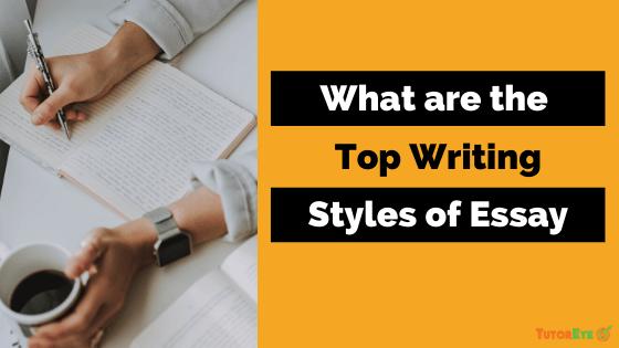 essay writing styles